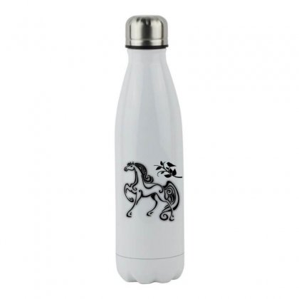 Magical Horse Stainless Steel Water Bottle Designed By Ianski
