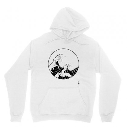 Waves Unisex Hoodie Designed By Sushininja