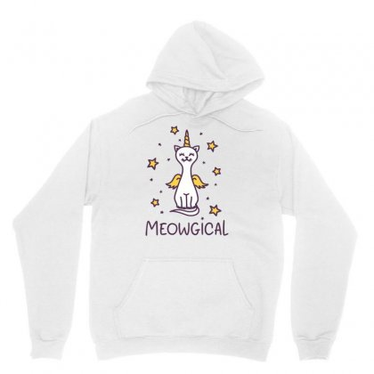 Meowgical Unisex Hoodie Designed By S4bilal