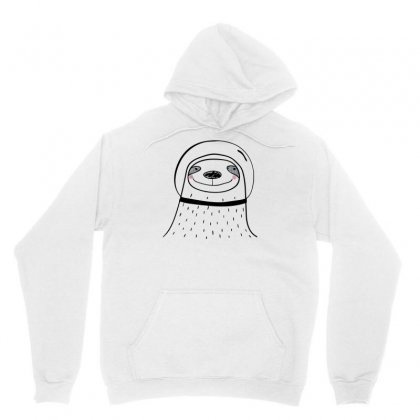 Space Faultier Unisex Hoodie Designed By S4bilal