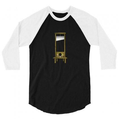 The Guillotine 3/4 Sleeve Shirt Designed By F4j4r