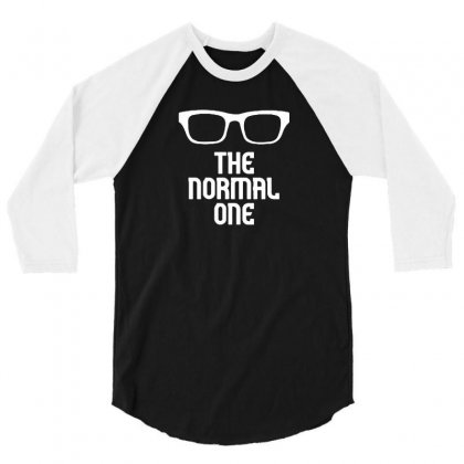 The Normal One 3/4 Sleeve Shirt Designed By F4j4r