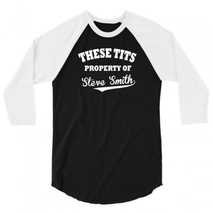These Tits 3/4 Sleeve Shirt Designed By F4j4r