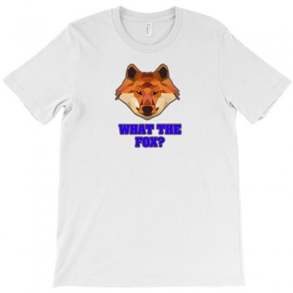 What The Fox T-shirt Designed By F4j4r