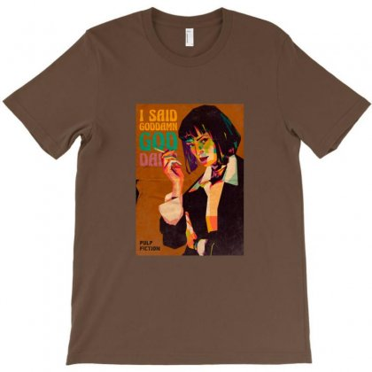 Mia Wallace Pulp Fiction T-shirt Designed By Sr88