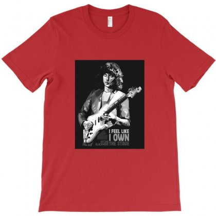 Ritchie Blackmore Bw T-shirt Designed By Sr88