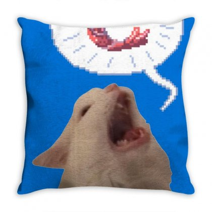 Screamin Thurston Throw Pillow Designed By Cutmemey