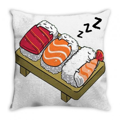 Sushi Hug Throw Pillow Designed By Cutmemey