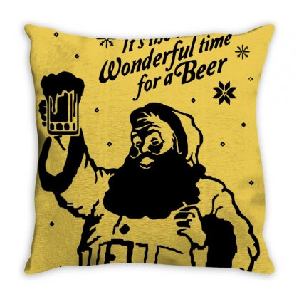 Santa Claus Throw Pillow Designed By Cutmemey