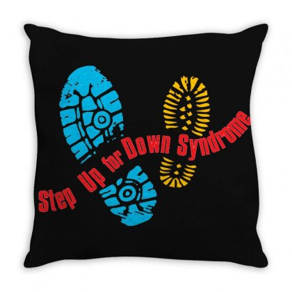 Save Down Syndrome Throw Pillow Designed By Cutmemey