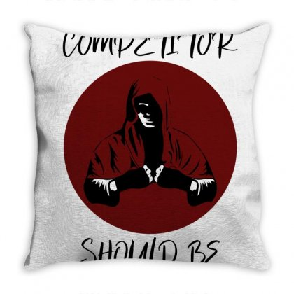 Your Biggest Competitor Throw Pillow Designed By Bettercallsaul