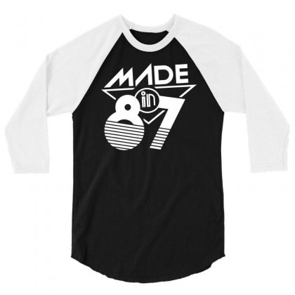 Made In 1987 3/4 Sleeve Shirt Designed By Milamaftah