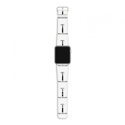 This Is Not A Drill Apple Watch Band Designed By Milamaftah
