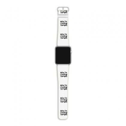 Relax I'm A Massage Therapist Apple Watch Band Designed By Thebestisback