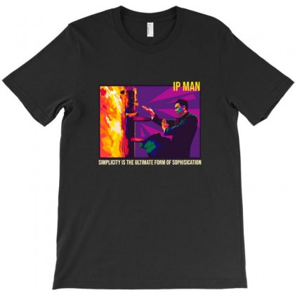 Ip Man The Finale T-shirt Designed By Sr88