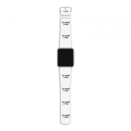 Tea Books & Rain Apple Watch Band Designed By Thebestisback