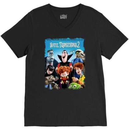 Hotel Transylvania 2 The Only Thing V-neck Tee Designed By Teeshop