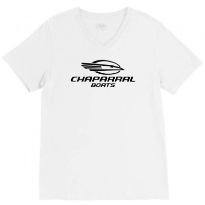 Hot Chaparral Boats Grey Sport V-neck Tee Designed By Teeshop