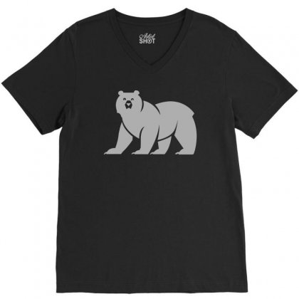 House Mormont V-neck Tee Designed By Teeshop