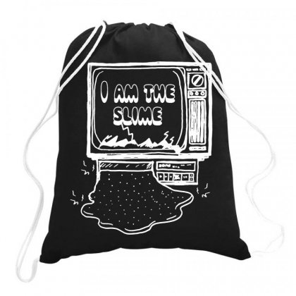 I Am The Slime Drawstring Bags Designed By Teeshop