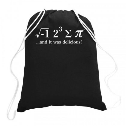 I Ate Some Pi Drawstring Bags Designed By Teeshop