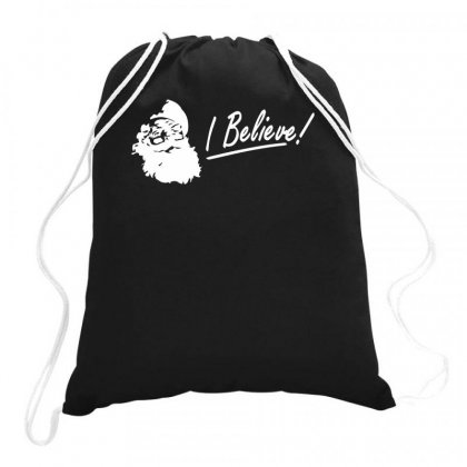 I Believe Drawstring Bags Designed By Teeshop
