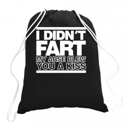 I Didn't Fart Funny Drawstring Bags Designed By Teeshop