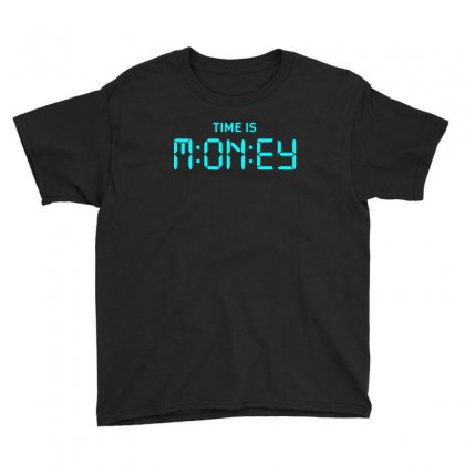 Time S Money Youth Tee Designed By Designisfun