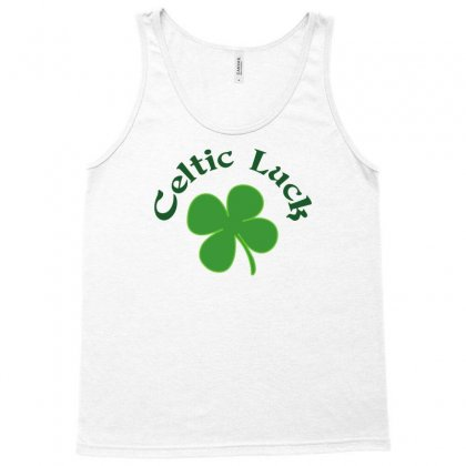 Celtic Lucky Charm Tank Top Designed By Milamaftah