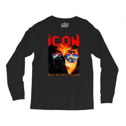 Icon Right Between The Eyes Long Sleeve Shirts Designed By Teeshop