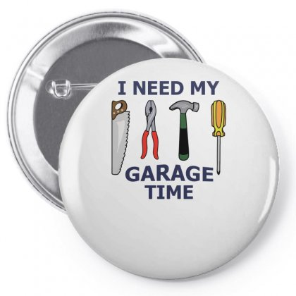 My Garage Time Pin-back Button Designed By Milamaftah