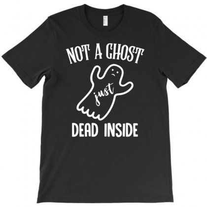 Not A Ghost T-shirt Designed By Milamaftah