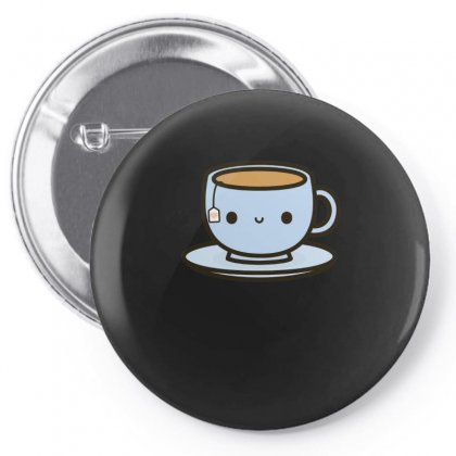 Cute Cup Of Tea Pin-back Button Designed By Hoainv