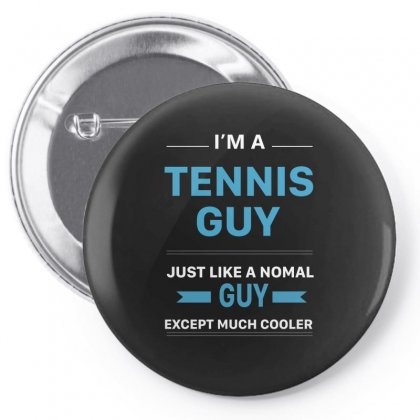 Cool Tennis Guy Pin-back Button Designed By Hoainv