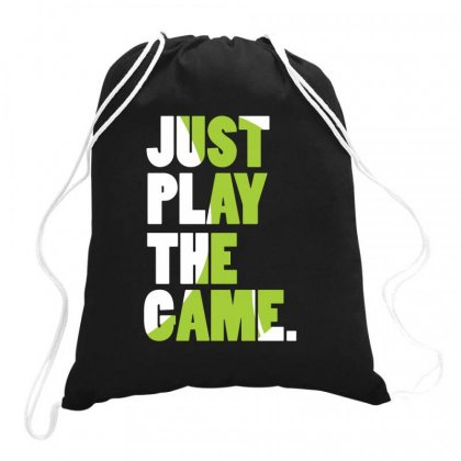 Just Play The Game Drawstring Bags Designed By Hoainv