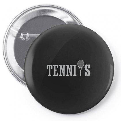Picture Tennis Pin-back Button Designed By Hoainv