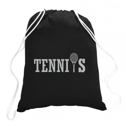 Picture Tennis Drawstring Bags Designed By Hoainv