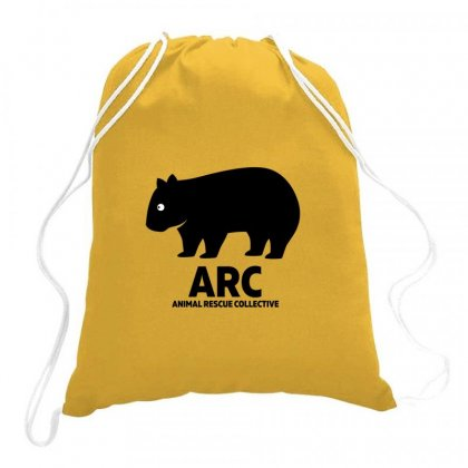 Animal Lovers Drawstring Bags Designed By Hose White