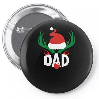 Dad Deer Funny Pin-back Button Designed By Milamaftah