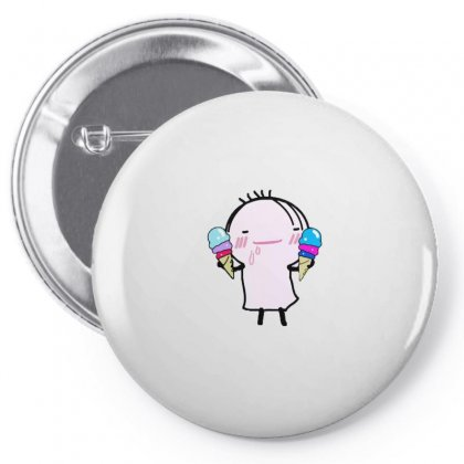 I Love Ice Cream Pin-back Button Designed By Wd650