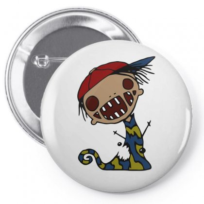Hip Hop Kids Zombie Pin-back Button Designed By Milamaftah