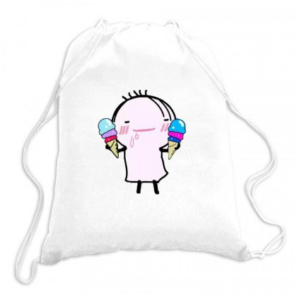 I Love Ice Cream Drawstring Bags Designed By Wd650