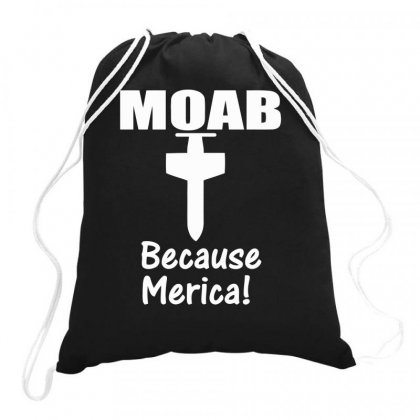 Moab Military Mother Of All Bombs Funny Drawstring Bags Designed By Milamaftah
