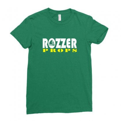 Rozzers Ladies Fitted T-shirt Designed By Hose White