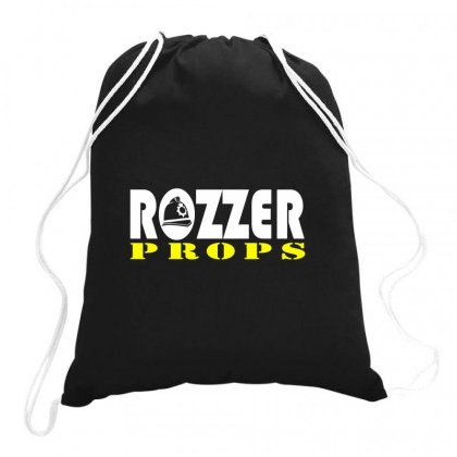 Rozzers Drawstring Bags Designed By Hose White