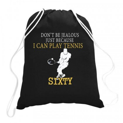 Tennis At Sixty Drawstring Bags Designed By Hoainv