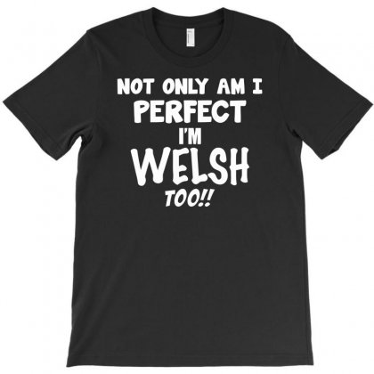 Perfect Welsh Funny Saying T-shirt Designed By Milamaftah