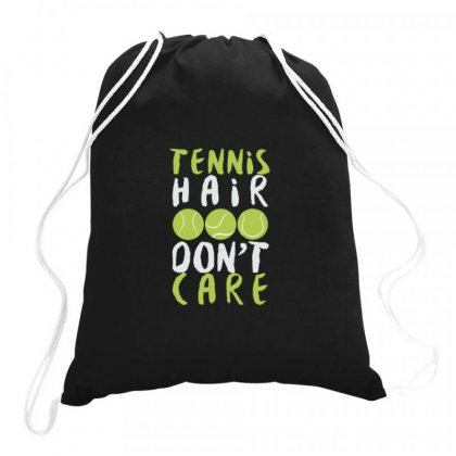 Tennis Hair Don't Care Drawstring Bags Designed By Hoainv