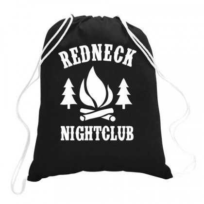 Redneck Nightclub Drawstring Bags Designed By Milamaftah