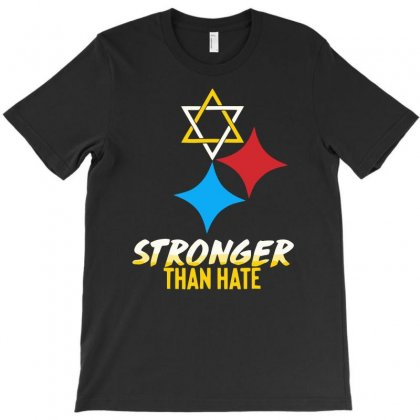 Stronger Than Hate Funny T-shirt Designed By Milamaftah